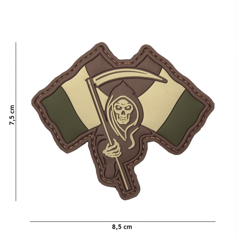 Patch 3D PVC French Reaper woodland #13088