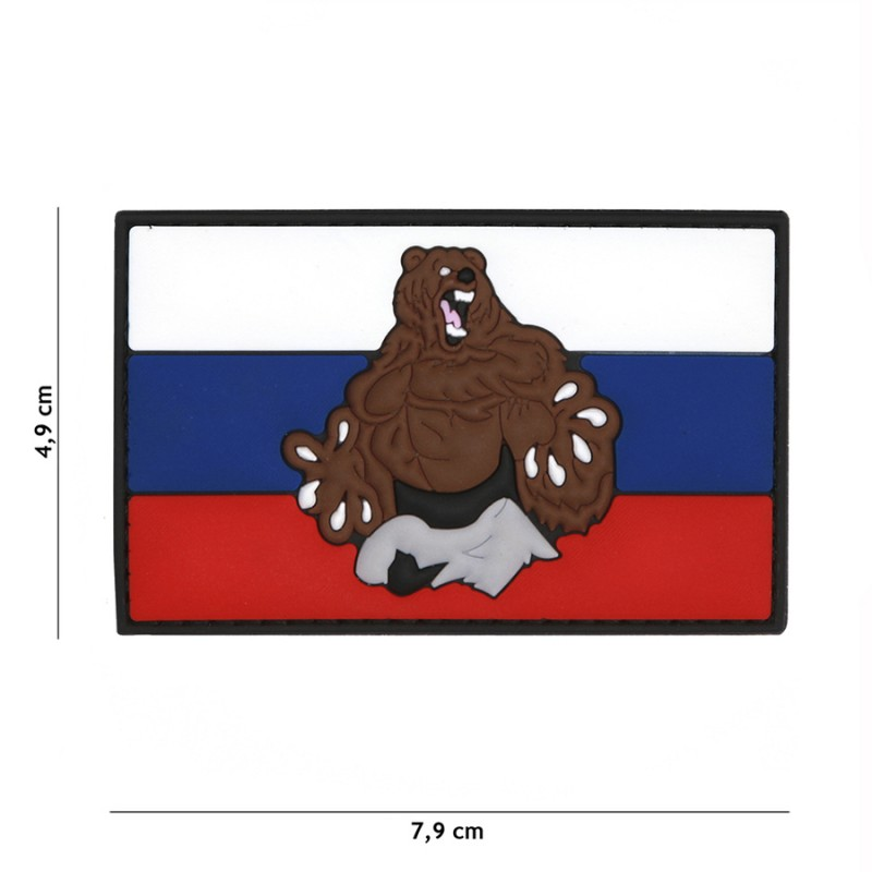 Patch 3D PVC Russia beer #5110