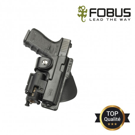 HOLSTER RIGIDE POLYMERE PR GLOCK 17/22/31 RETENTION PASSIVE