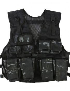 KIDS ASSAULT VEST-BTP BLACK