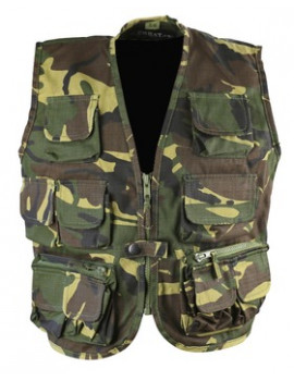 KIDS TACTICAL VEST - DPM