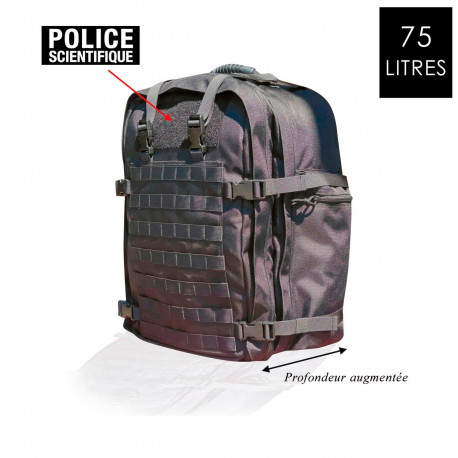 SAC A DOS POLICE SCIENTIFIQUE