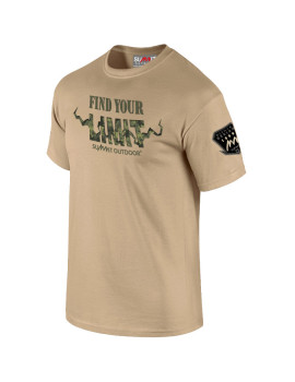 TEE-SHIRT FIND YOUR LIMIT CAMO SABLE