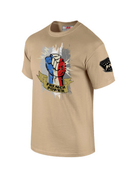 TEE-SHIRT FRENCH POWER SABLE